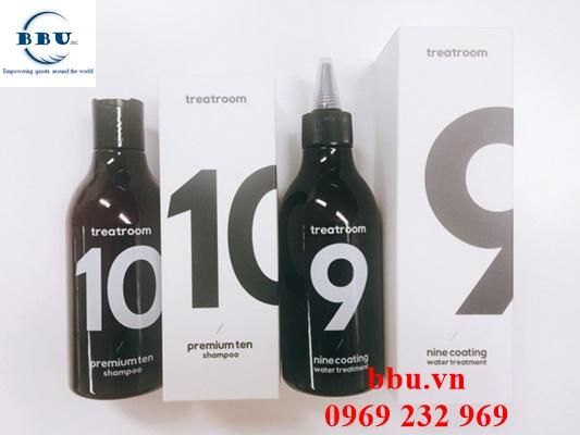 Phân phối sỉ bộ đôi dầu gội và dầu xả Treatroom 9 10