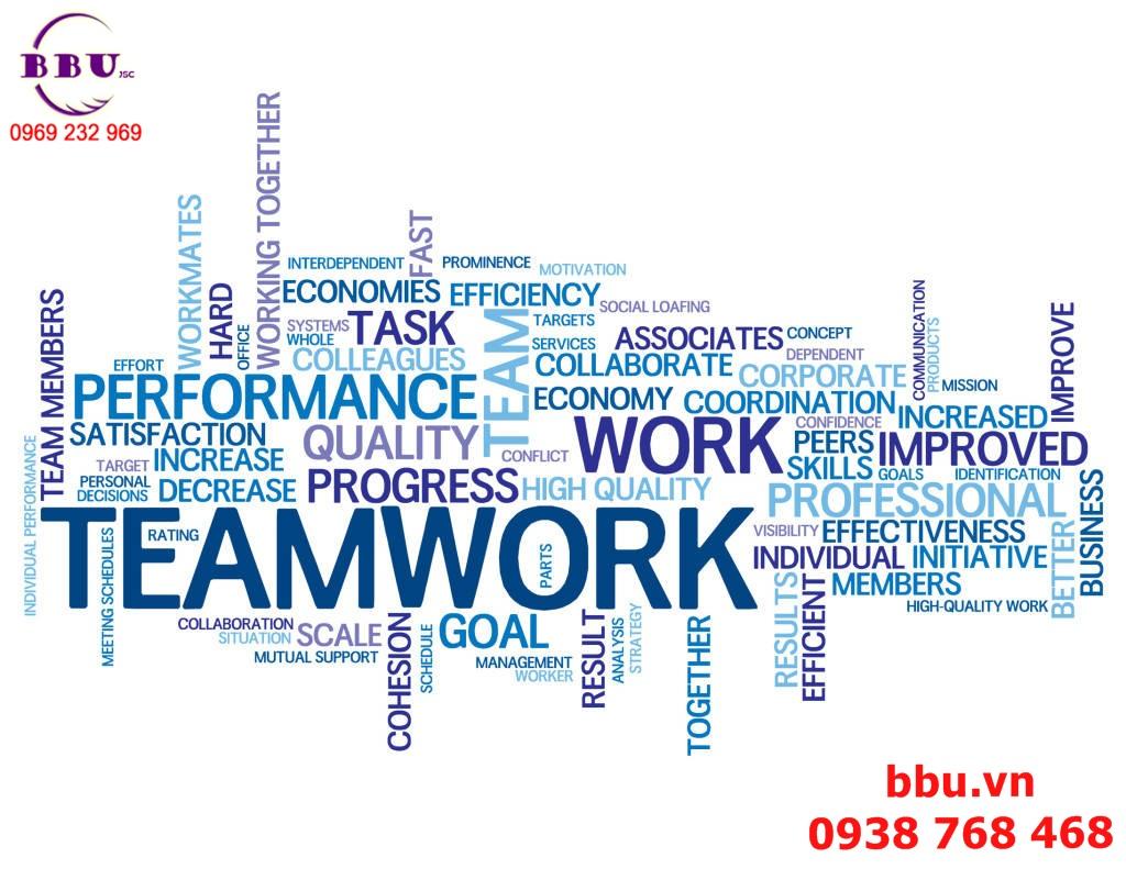Teamwork và 15 quy luật