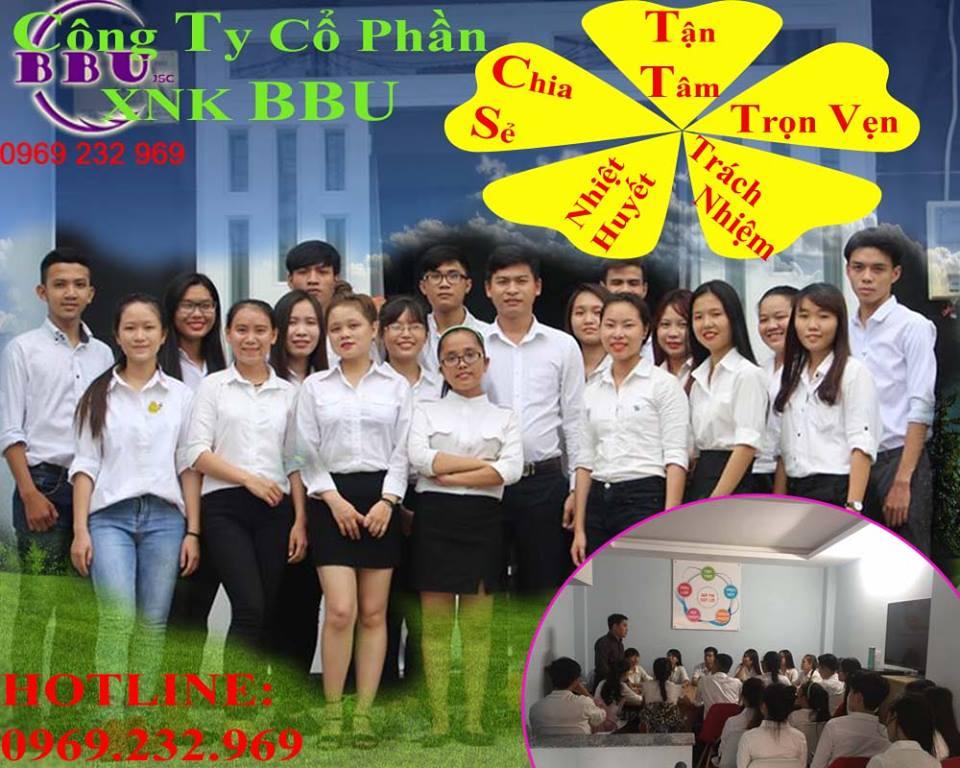 Kĩ năng phục vụ tại Công ty CP XNK BBU