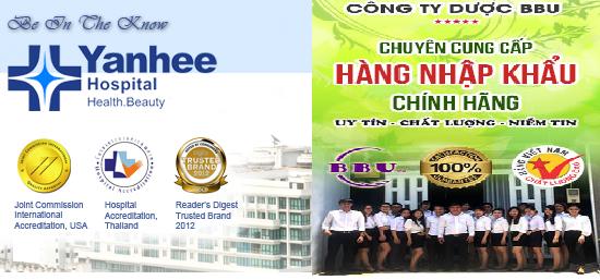 Tìm hiểu vê sản phẩm bệnh viện Yanhee chính hãng