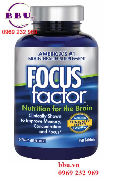 Review Viên uống bổ não Focus Factor