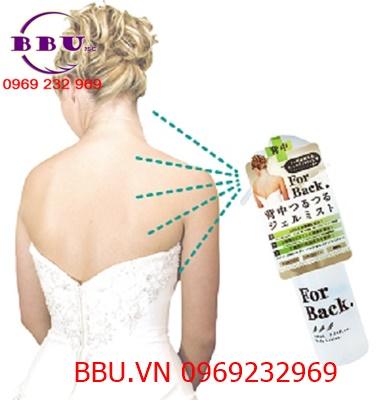 Review lotion trị mụn và thâm lưng for back