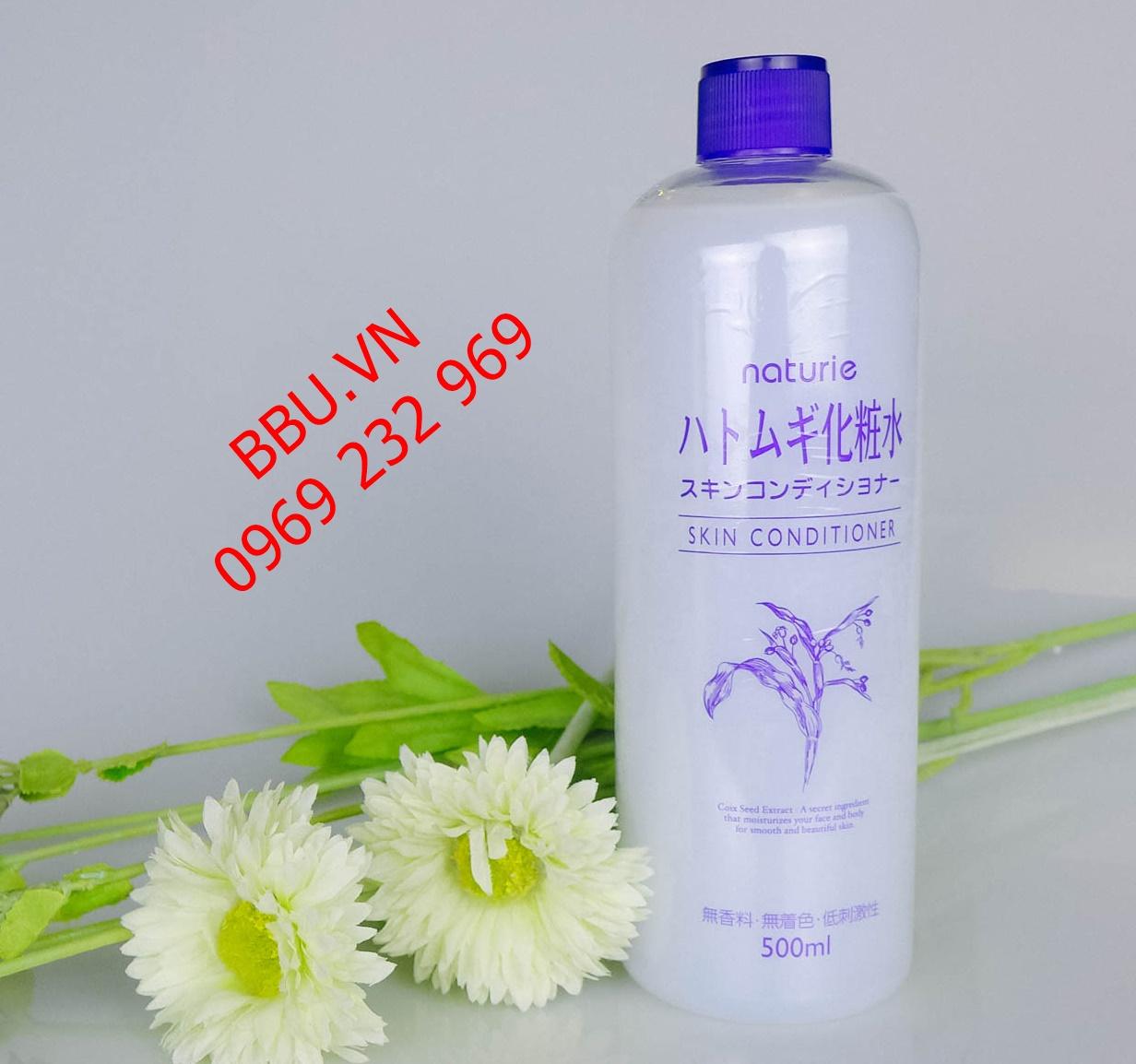 Review nước hoa hồng  xuất  xứ từ Nhật Naturie Skin