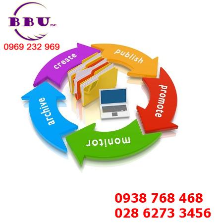 Quy trình xử lí thông tin tại công ty xuất nhập khẩu BBU