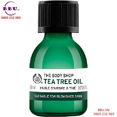 Review Tinh dầu trà The Body Shop Tea Tree Oil