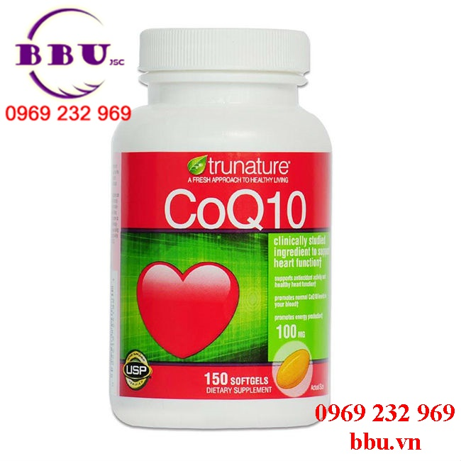 Thuốc bổ tim mạch coq10