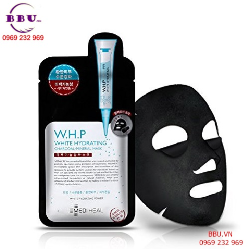 Review Mediheal W.H.P White Hydrating Black Mask
