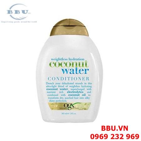 Dầu gội và dầu xả OGX Coconut Water