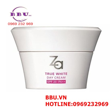 Kem dưỡng trắng da ban ngày ZA True White Ex