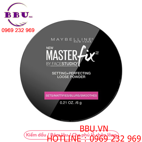 Phấn phủ Maybelline Master Fix By Face Studio