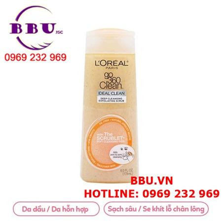 Sữa rửa mặt LOreal Go 360 Clean Deep Facial Cleanser
