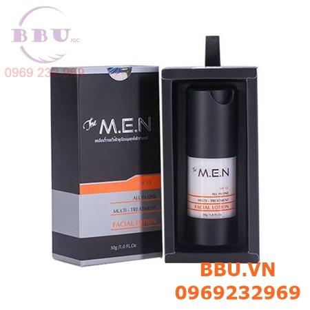 Facial Lotion The M.E.N SPF 15 – Gel dưỡng trắng, cấp nước, trị thâm dành cho nam giới