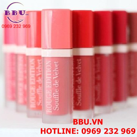 Son kem lì Bourjois Rouge Edition Souffle De Velvet Lipstick