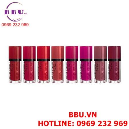 Son kem lì Bourjois Rouge Edition Velvet Matte Liquid Lipstick