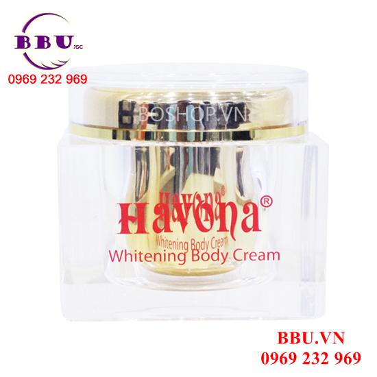 Kem dưỡng trắng da toàn thân Havona Whitening Body Cream 300gr