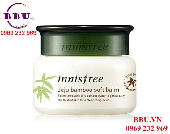 Kem dưỡng ẩm, giảm nhiệt tức thì Innisfree Jeju Bamboo Soft Balm
