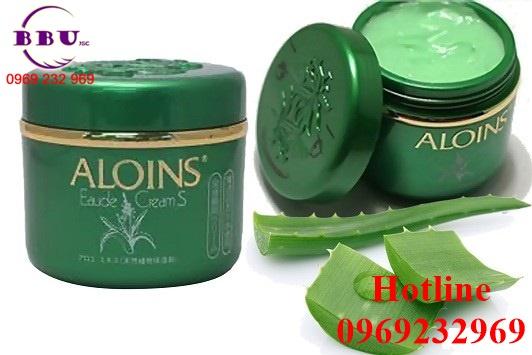 Kem dưỡng trắng da Aloins Eaude Creams 185g