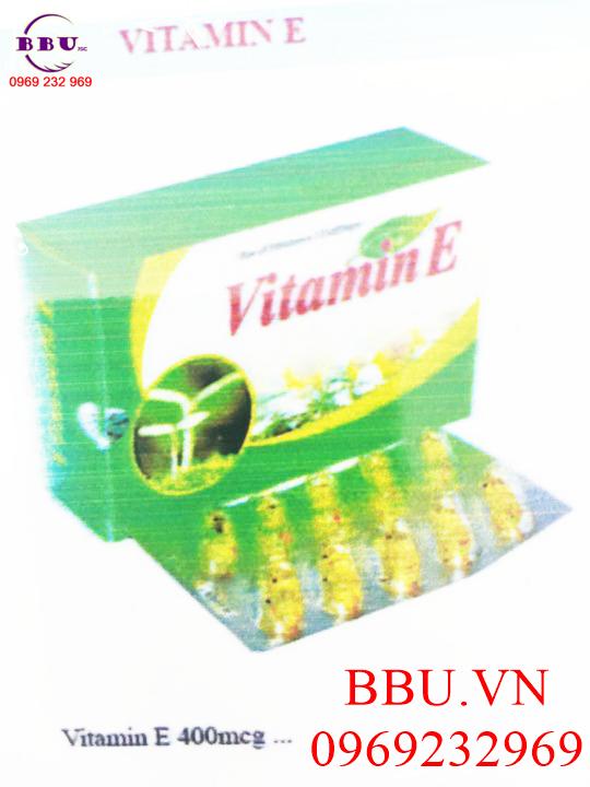 vitamin E chống lão hóa da