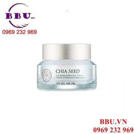 Kem dưỡng ẩm The Face Shop Chia Seed No Shine Hydrating Cream