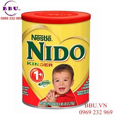 Sữa chống táo bón - Sữa Nido 1+ hộp 2,2kg
