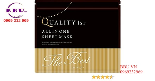 Mặt nạ giấy Quality 1st First All in one Sheet Mask