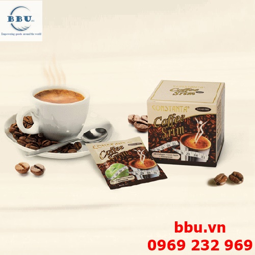 COFFEE GIẢM CÂN CHIẾT XUẤT TỪ TÁO XANH, LỰU, NHÂN SÂM VÀ COLLAGEN