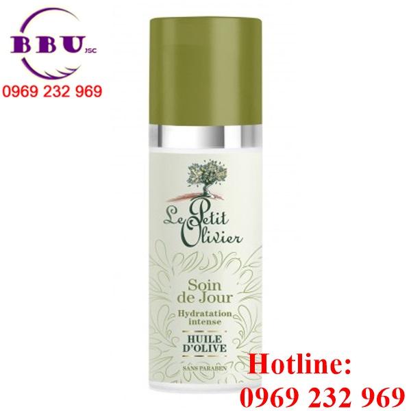 Kem Dưỡng Ẩm Ban Ngày Le Petit Olivier Day Skincare Intense Moisturising Olive Oil 50ml