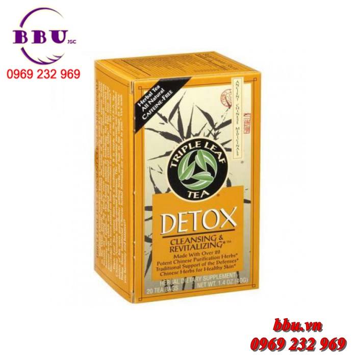 Trà thanh lọc cơ thể, giảm cân hiệu quả Detox Triple Leaf Tea