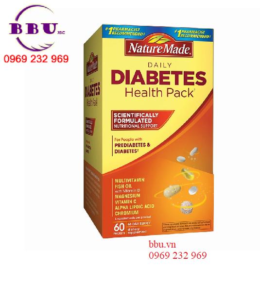 Thuốc Điều Hòa Tiểu Đường Nature Made Diabetes Health