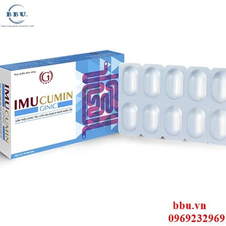 Điều trị viêm đại tràng  cấp và mãn tính, viêm đại tràng co thắt IMUcumin
