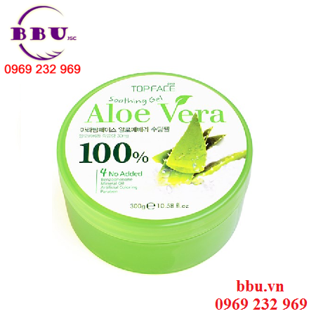 Gel Dưỡng da lô hội Aloe Vera Arra Top Face 100%