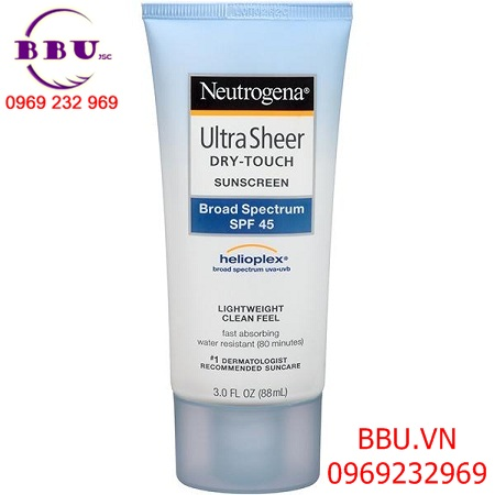 Kem chống nắng Neutrogena Dry Touch Sunscreen