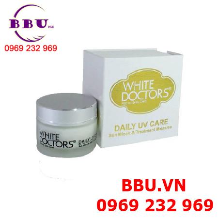 Kem chống nắng trị nám tàn nhang đốm nâu hiệu quả White Doctor DAILY UV CARE