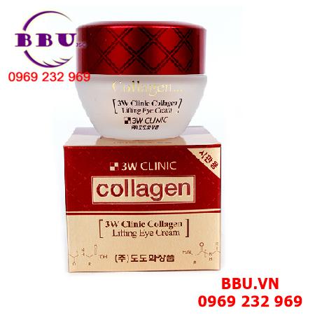 Kem dưỡng da vùng mắt 3W Clinnic Collagen