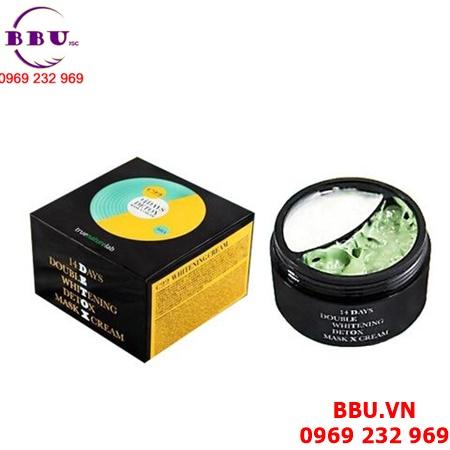 Kem dưỡng trắng da 14 days detox mask cream