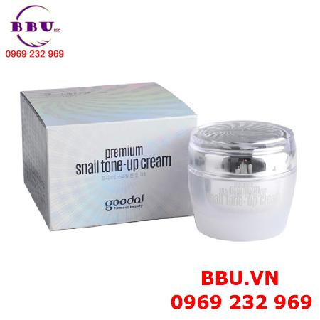 Kem dưỡng trắng da cao cấp từ ốc sên GOODAL Premium Snail Tone-up Cream