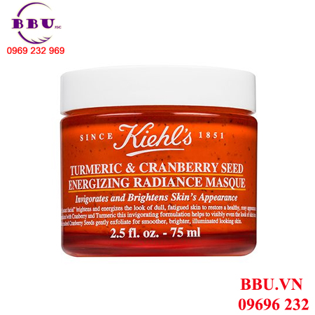 Mặt nạ Kiehls Turmeric Cranberry Seed Energizing Radiance Masque