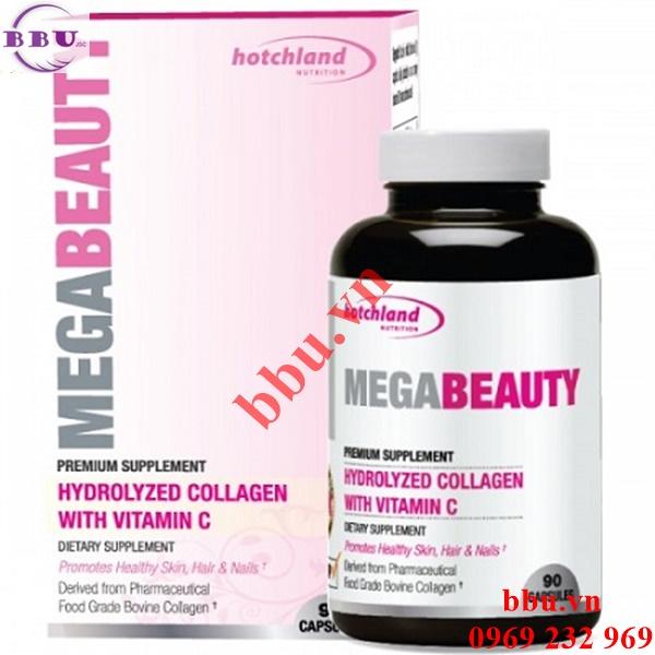 MegaBeauty Collagen và Vitamin C chống lão hóa làm da căng mịn