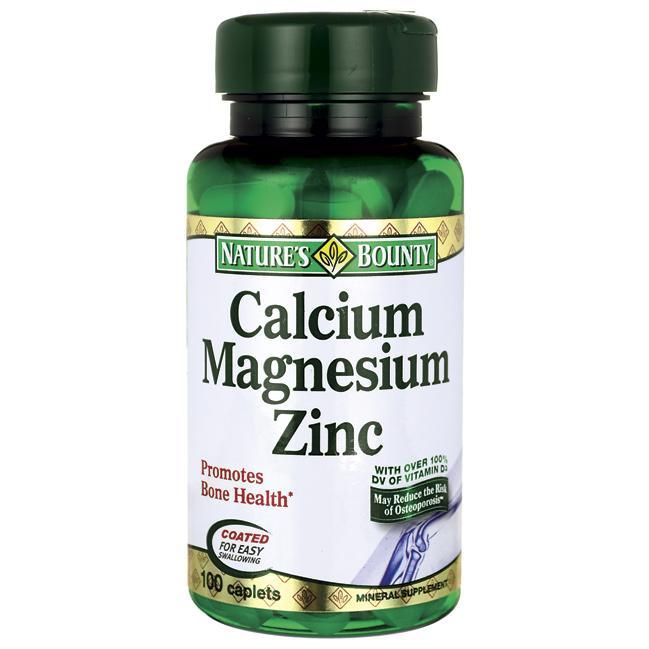 Calcium Magnesium Zinc - Bổ sung Canxi