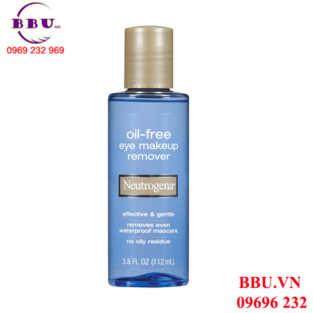 Tẩy Trang Neutrogena Oil Free Eye Make-up Remover