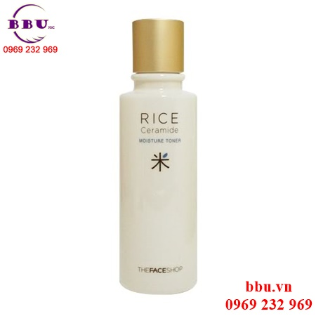 Nước hoa hồng The Face Shop Rice Ceramide Moisture Toner