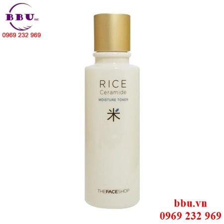 Nước hoa hồng The Face Shop Rice Ceramide Moisture Toner