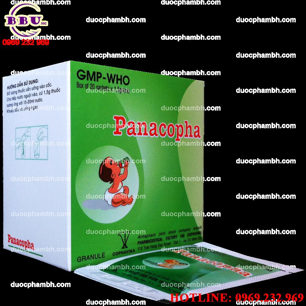 Thuốc cốm Panacopha