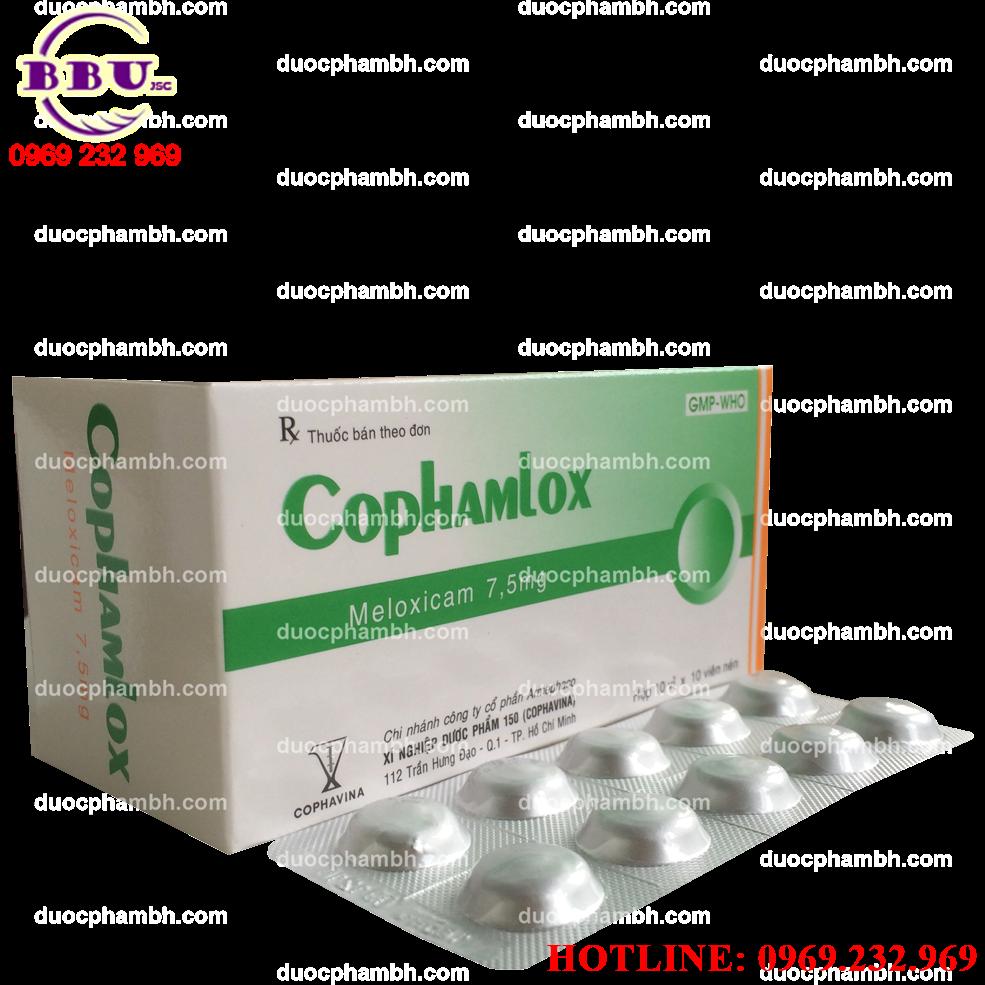 Thuốc kháng viêm COPHAMLOX