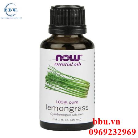 Tinh dầu xã điều trị ung thư Now Foods Lemongrass Oil 30ml