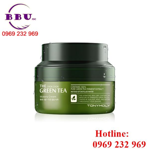 Kem dưỡng da Chok Chok Green Tea Watery Cream
