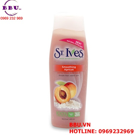 Sữa Tắm St.Ives hương NOURISH & SOOTHE  và hương St. Ives Smoothing Apricot