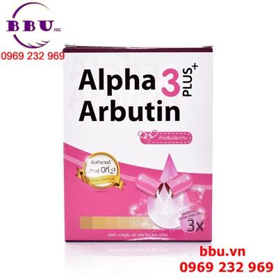 Viên Kích Trắng Alpha Arbutin 3Plus+