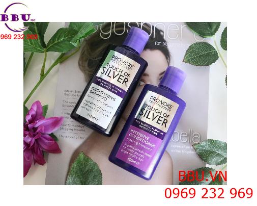 Dầu gội nâng tông với tóc tẩy PRO VOKE Touch Of Silver Brightening Shampoo
