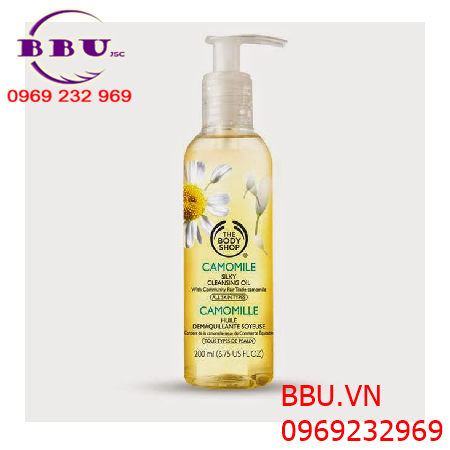 Dầu tẩy trang The Body Shop Camomile Silky Cleansing Oil